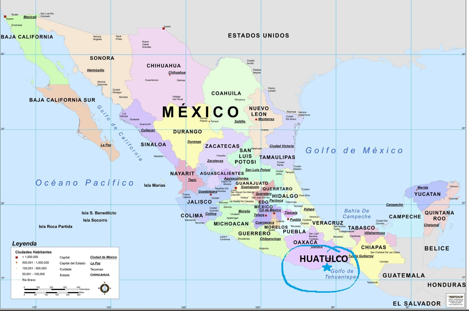 Where is Huatulco?